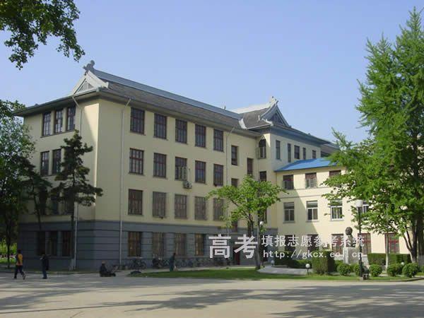 南京林业大学校园一角