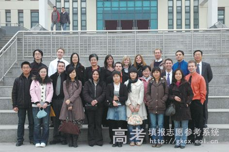北京化工大学北方学院校园一角