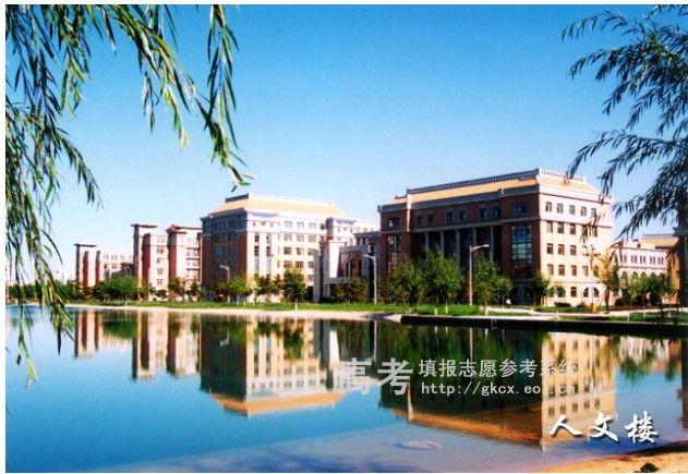 渤海大学文理学院校园一角