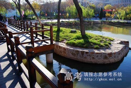 天津科技大学校园一角