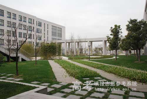 江南大学校园一角
