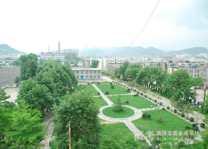 贵阳职业技术学院校园俯瞰