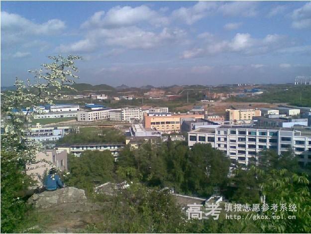 贵州师范大学求是学院校园一角