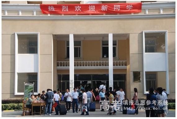 南京师范大学中北学院校园一角