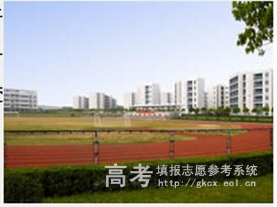 南京理工大学紫金学院校园一角
