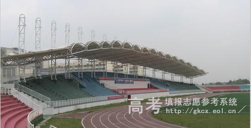 湖南科技大学潇湘学院校园一角