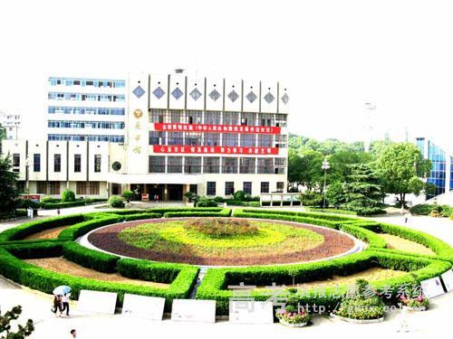长沙民政职业技术学院校园一角