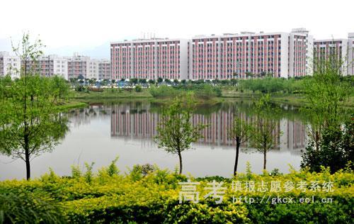 广州城建职业学院校园一角