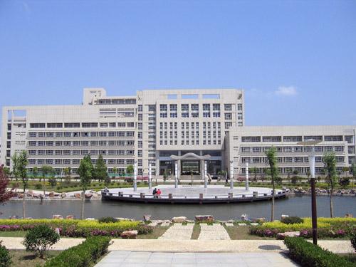 江苏大学校园环境2号楼群